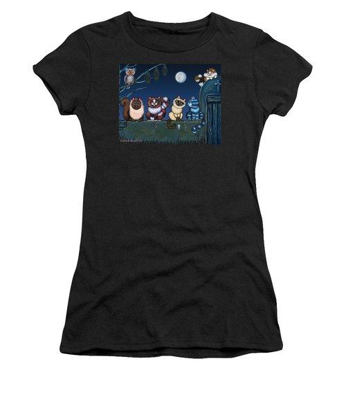 On An Adobe Wall Women's T-Shirt