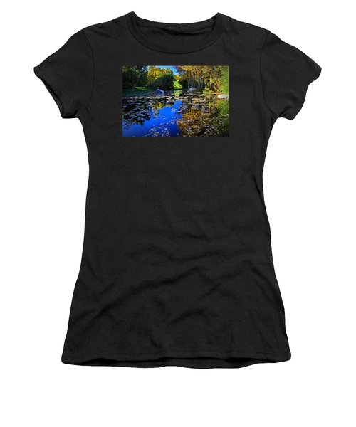 On Golden Pond  Women's T-Shirt (Athletic Fit)