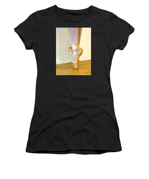 Ballet Toes On Point Women's T-Shirt