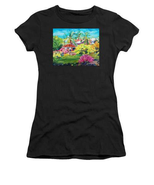 On The Big Island Women's T-Shirt (Athletic Fit)