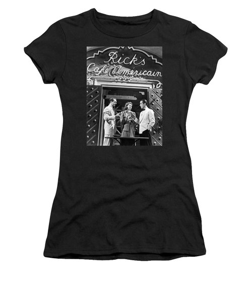 On The Casablanca Set Women's T-Shirt