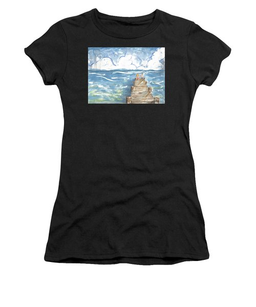 On The Dock Women's T-Shirt