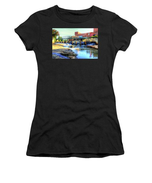 On The Reedy River In Greenville Women's T-Shirt