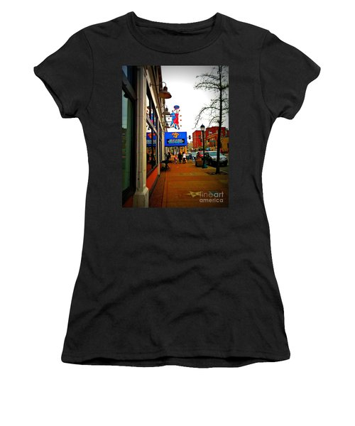 One Of Ten Great Streets Women's T-Shirt (Junior Cut) by Kelly Awad