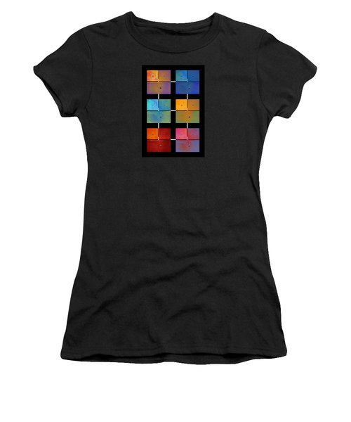 One To Eighteen - Colorful Rust - All Colors Women's T-Shirt (Junior Cut) by Menega Sabidussi