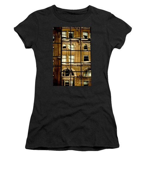 Women's T-Shirt (Athletic Fit) featuring the photograph Open Windows by Christiane Hellner-OBrien