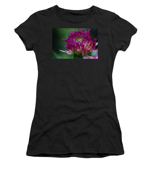 Women's T-Shirt (Junior Cut) featuring the photograph Opening Day by Denyse Duhaime