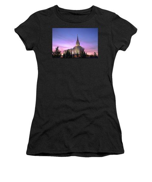 Oquirrh Mountain Temple Iv Women's T-Shirt