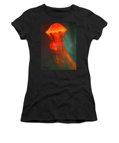 Orange Jellies Women's T-Shirt (Junior Cut) by Ellen Henneke