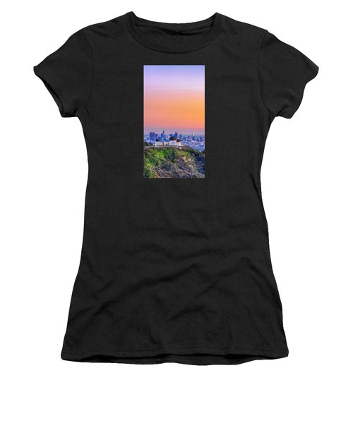 Orangesicle Griffith Observatory Women's T-Shirt