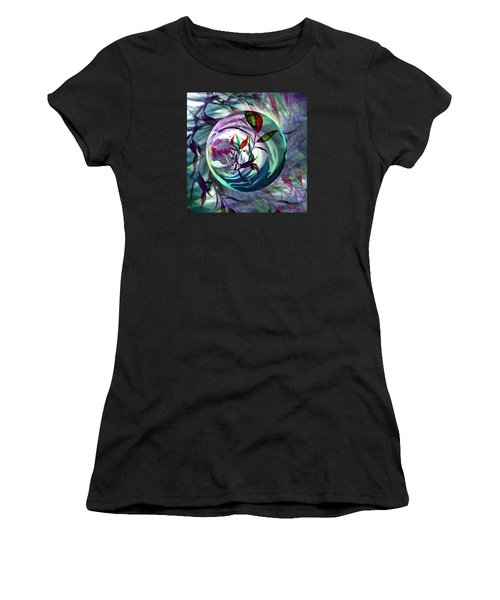 Orbiting Cranberry Dreams Women's T-Shirt