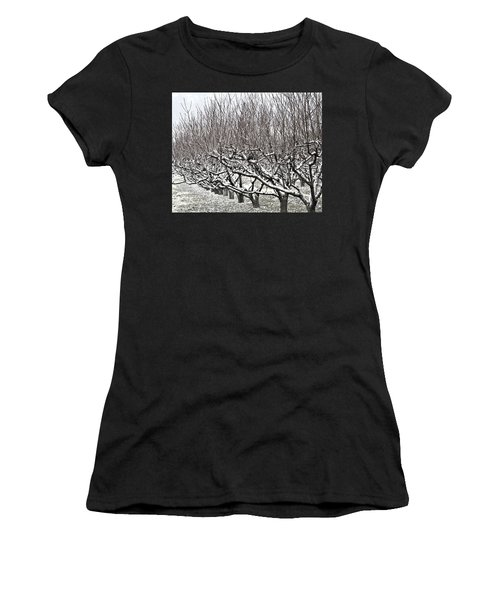 Orchard In Winter Women's T-Shirt