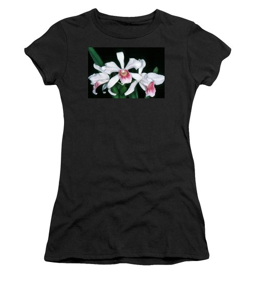 Orchid 10 Women's T-Shirt (Athletic Fit)