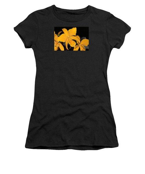 Orchid 5 Women's T-Shirt (Athletic Fit)