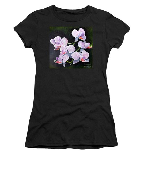 Orchids II Women's T-Shirt (Athletic Fit)