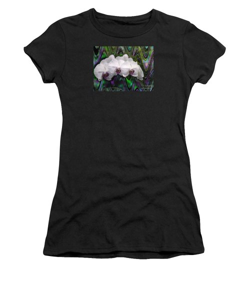 Women's T-Shirt (Junior Cut) featuring the photograph Balanchine Ballet by The Art of Alice Terrill