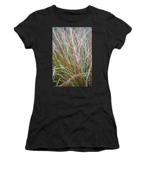 Ornamental Grass Abstract Women's T-Shirt