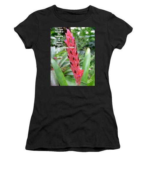 Oscar Wilde Women's T-Shirt (Athletic Fit)