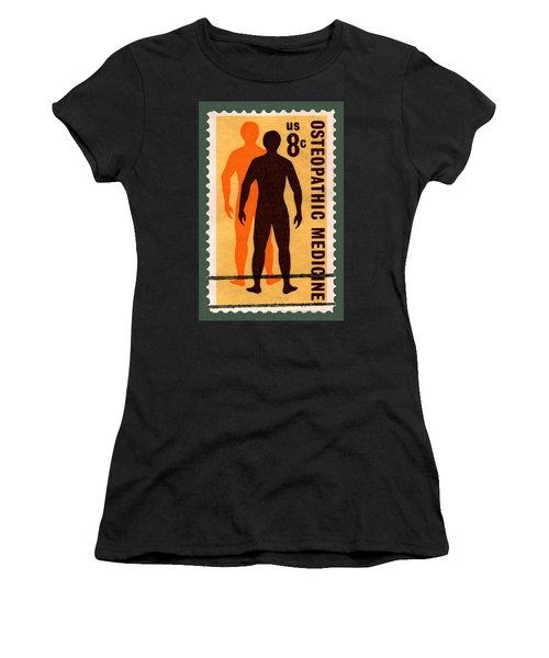 Osteopathic Medicine Stamp Women's T-Shirt (Athletic Fit)