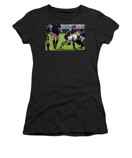 Women's T-Shirt (Junior Cut) featuring the photograph Out Numbered by Mike Martin