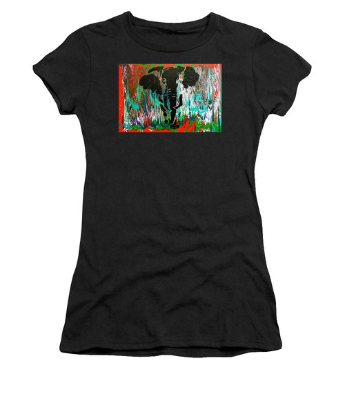 Out Of Africa Women's T-Shirt (Athletic Fit)