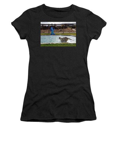 Out Of Africa Tiger Splash 3 Women's T-Shirt