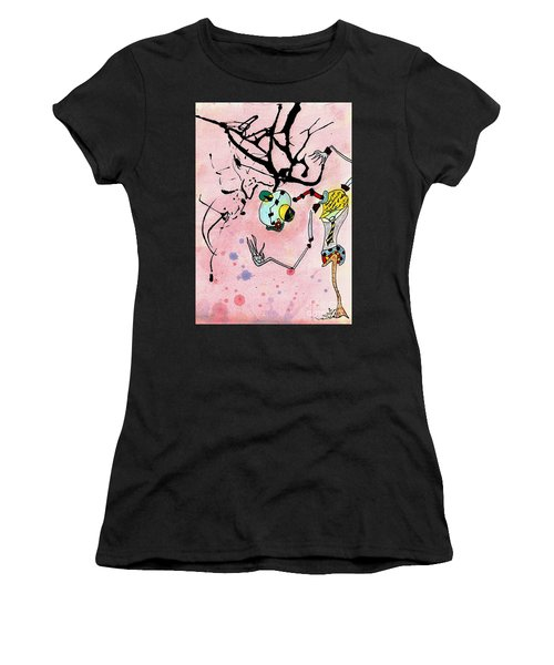 Over Here Women's T-Shirt (Athletic Fit)