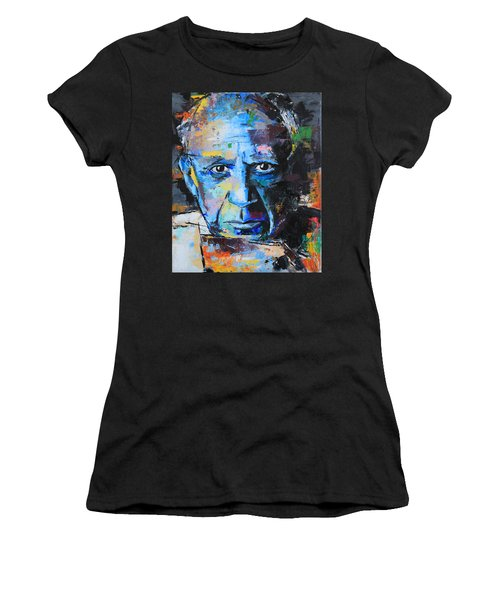 Pablo Picasso Women's T-Shirt (Junior Cut) by Richard Day