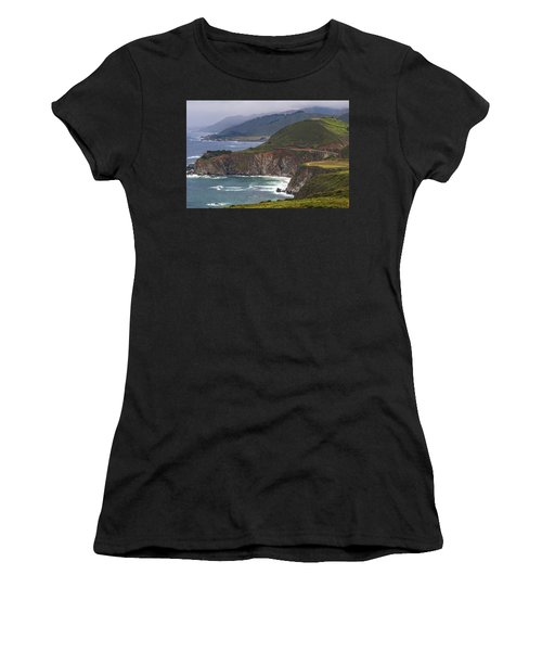 Pacific Coast View Women's T-Shirt (Athletic Fit)