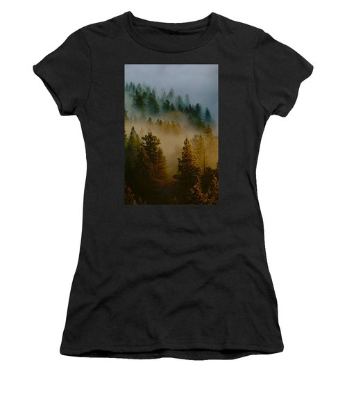 Pacific Northwest Morning Mist Women's T-Shirt