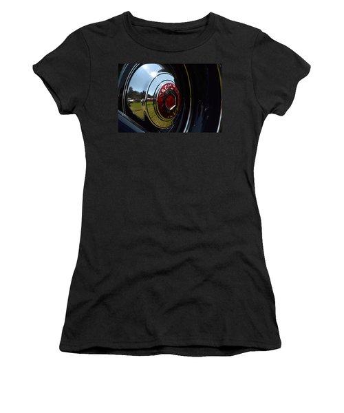 Women's T-Shirt (Junior Cut) featuring the photograph Packard - 2 by Dean Ferreira