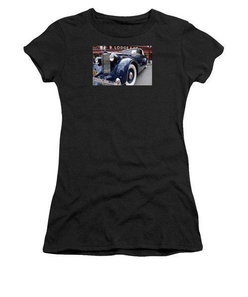 Women's T-Shirt (Junior Cut) featuring the photograph Packard 1207 Convertible 1935 by John Schneider