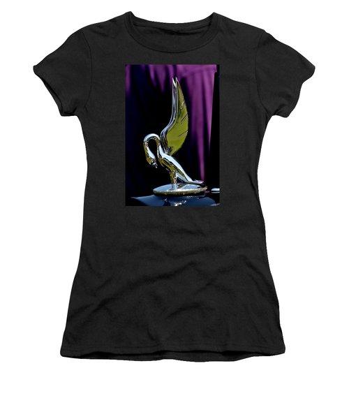 Women's T-Shirt (Junior Cut) featuring the photograph Packard - 3 by Dean Ferreira
