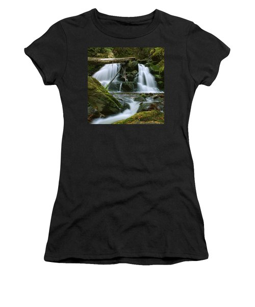 Packer Falls Women's T-Shirt (Athletic Fit)