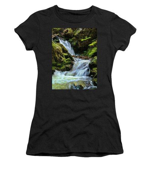 Packer Falls Vert 1 Women's T-Shirt (Athletic Fit)