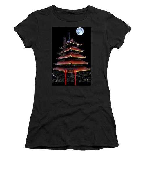 Pagoda Women's T-Shirt (Athletic Fit)
