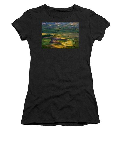 Palouse Shadows Women's T-Shirt (Athletic Fit)