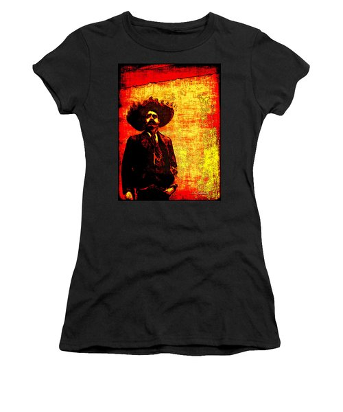 Pancho Villa Women's T-Shirt (Athletic Fit)
