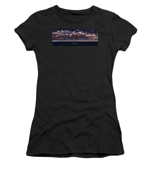 Panorama Of Cedeira Galicia Spain Women's T-Shirt