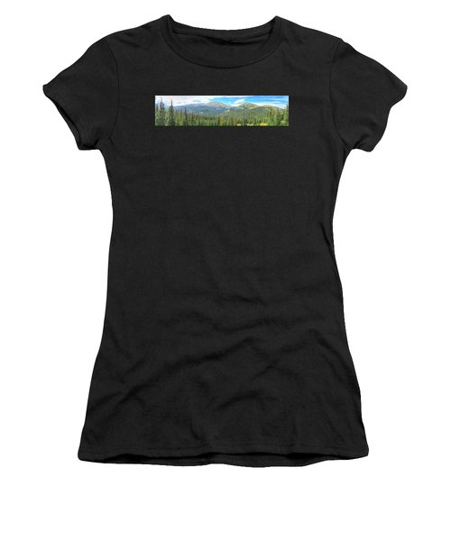 Panoramic Boreas Pass Women's T-Shirt (Athletic Fit)