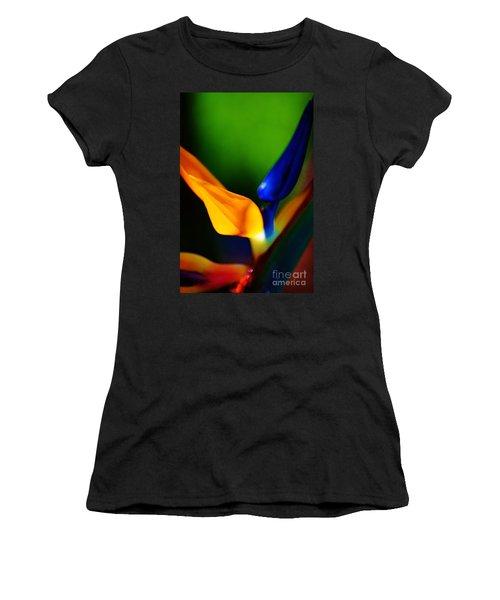 Pardise Birds Women's T-Shirt (Athletic Fit)
