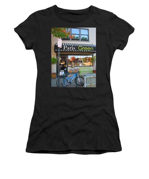 A Little Paris In Ashland Women's T-Shirt (Athletic Fit)