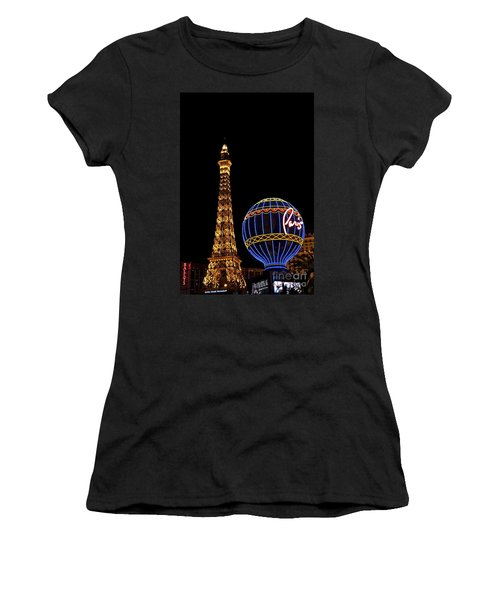 Paris In Vegas Women's T-Shirt