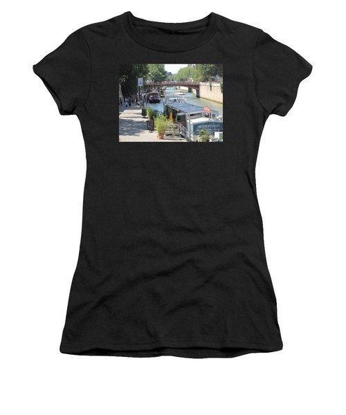 Paris - Seine Scene Women's T-Shirt