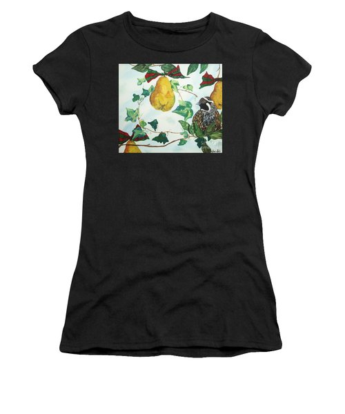 Partridge And  Pears  Women's T-Shirt