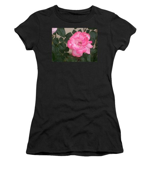 Passion Pink Women's T-Shirt (Athletic Fit)