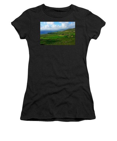Patchwork Landscape Women's T-Shirt (Junior Cut)