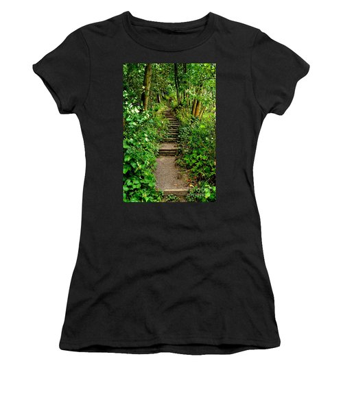 Path Into The Forest Women's T-Shirt
