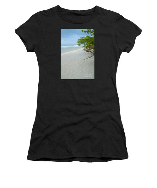 Peace And Quiet On Sanibel Island Women's T-Shirt (Athletic Fit)