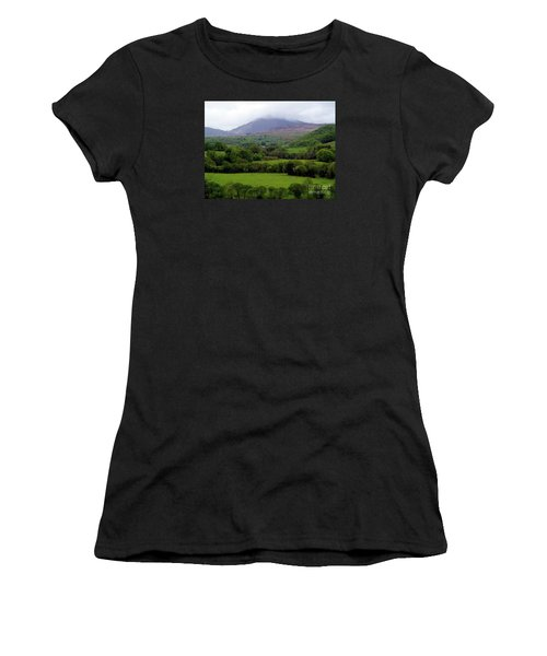 Peace On The Emerald Isle Women's T-Shirt (Junior Cut) by Patricia Griffin Brett